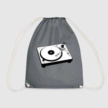 Turntable Turntable Vinyl Retro Gift - Drawstring Bag