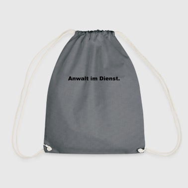 Lawyer on duty - Drawstring Bag