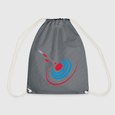 darts print - Drawstring Bag