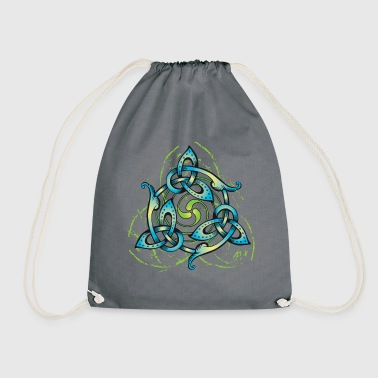 Celtic Flower - Drawstring Bag