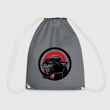 BLACK ANIMAL JUNGLE WILD CAT - Sac de sport léger