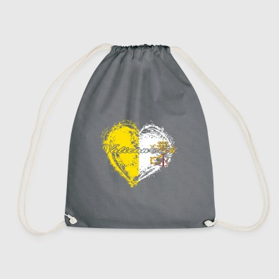 HOME ROOTS COUNTRY GIFT LOVE Vatican city - Turnbeutel