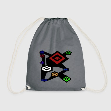 Ninja's three - Drawstring Bag