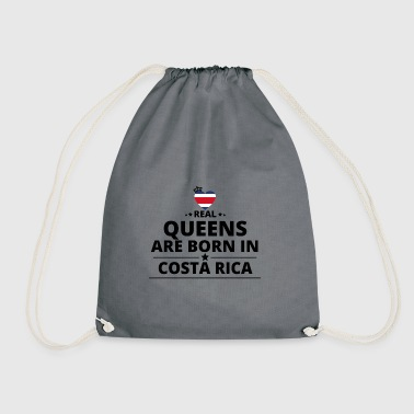 GIFT QUEENS LOVE FROM COSTA RICA - Drawstring Bag