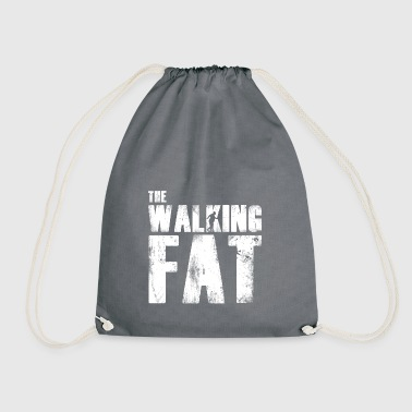 Fat fat gift for fat - Drawstring Bag