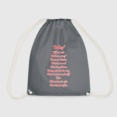 A dictionary is to be - Drawstring Bag