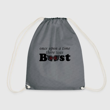 once upon a time boost - Drawstring Bag