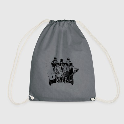 astronaut Surfer - Drawstring Bag