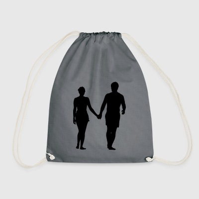 Pair - Drawstring Bag