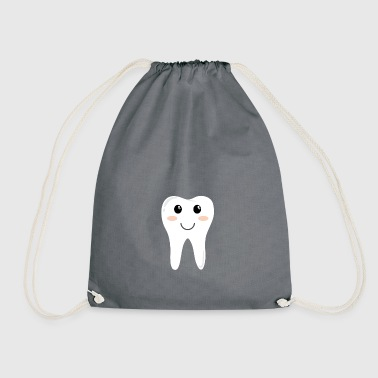 tooth - Drawstring Bag