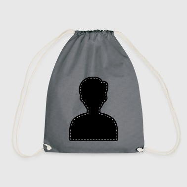 Icon Account Avatar - Drawstring Bag