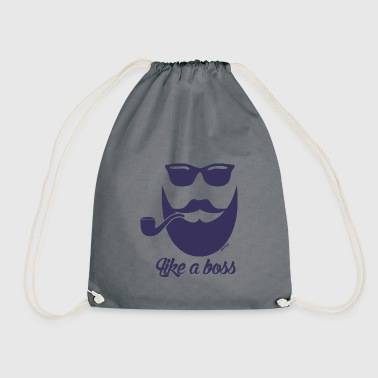 As a boss (H) - Drawstring Bag