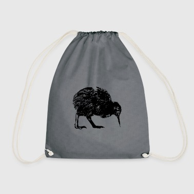 Kiwi New Zealand & Auckland - Drawstring Bag