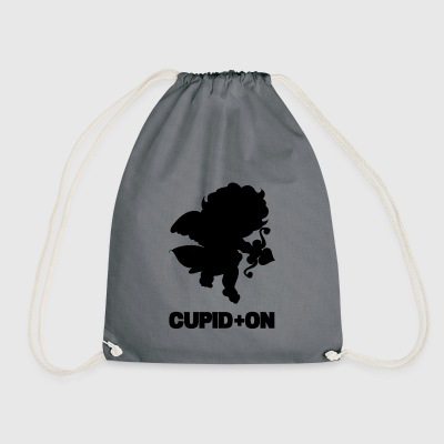 cupid blak - Drawstring Bag