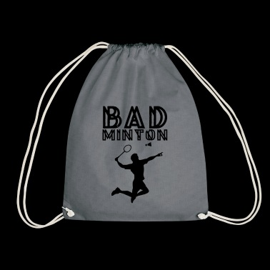 badminton - Drawstring Bag