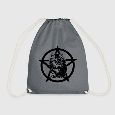 Satanic Kitten - Drawstring Bag