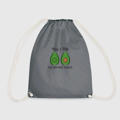 Perfect match man - Drawstring Bag