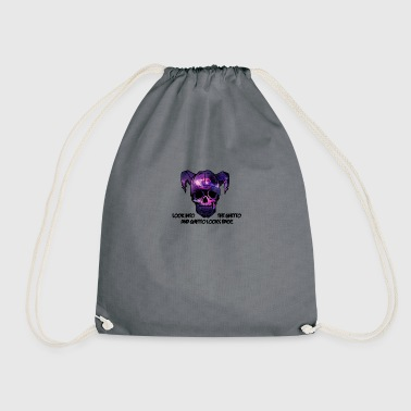 Look into the Ghetto and Ghetto looks back! - Drawstring Bag