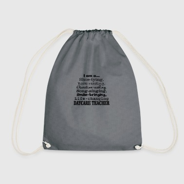 daycare teacher - Drawstring Bag