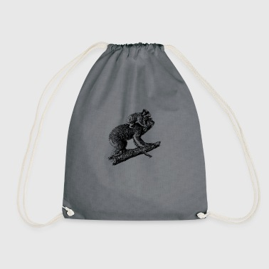 Koala with offspring - Drawstring Bag