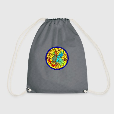Celtic beetle - Drawstring Bag