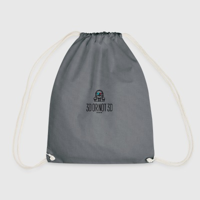 3D or Not 3D - Drawstring Bag
