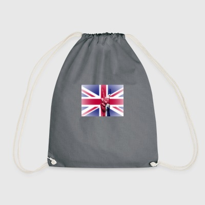United Kingdom Flag - Drawstring Bag
