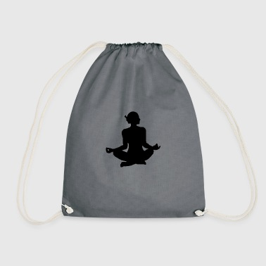 Yoga exercise - Drawstring Bag