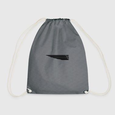 Eagle wing lung - Drawstring Bag