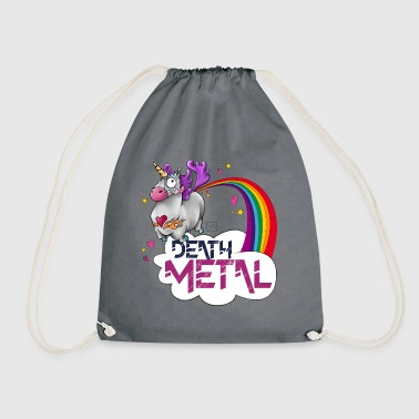 Death Metal Unicorn - Drawstring Bag