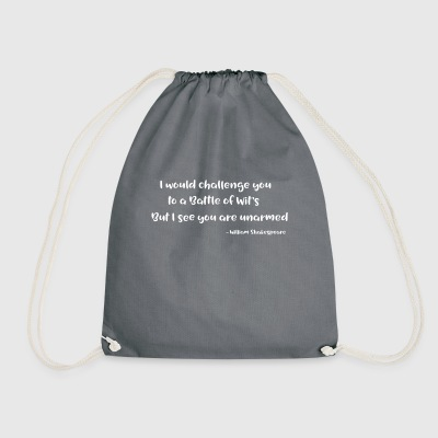Shakespeare Quotes - Drawstring Bag