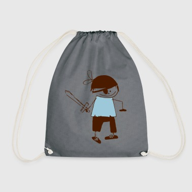 a pirate - Drawstring Bag
