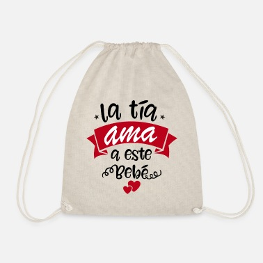 Aunt the aunt - Drawstring Bag