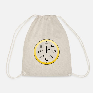 Clock Sleeping Clock Transparent / Sleeping Clock - Gymbag