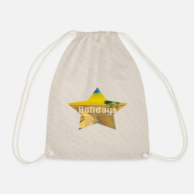 Vacation vacation - Drawstring Bag
