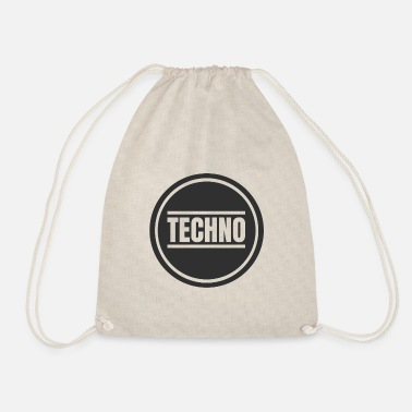 Detroit Techno Circle Techno Merchandise Rave After Hour - Sacca sportiva