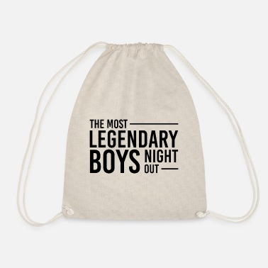 Guys Night Out Legendary boys night out - Drawstring Bag