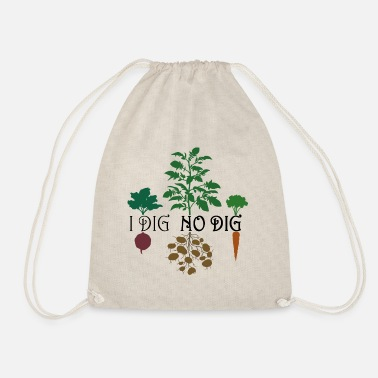 I Dig No Dig (Colored) - Drawstring Bag