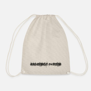 Seriously Famous - Drawstring Bag