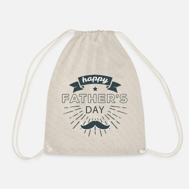 Fathers Day fathers day - Drawstring Bag