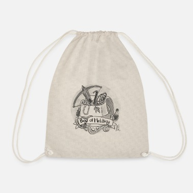 Dungeons And Dragons Bag of Holding - Drawstring Bag