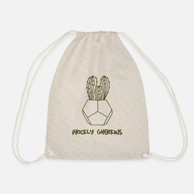 Prickly Prickly Gherkins - Drawstring Bag