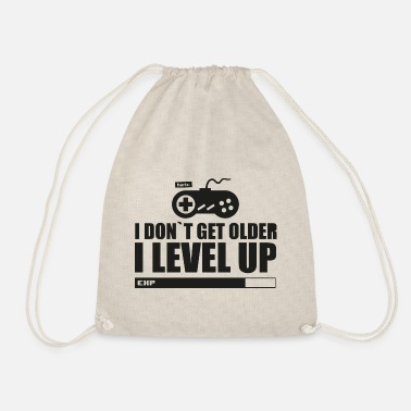 Contreoller I Don t Get Older I Leve Up HARIZ Gamer Gaming Ges - Drawstring Bag