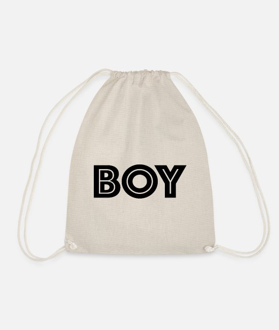 Type Bags & Backpacks - boy - Drawstring Bag nature