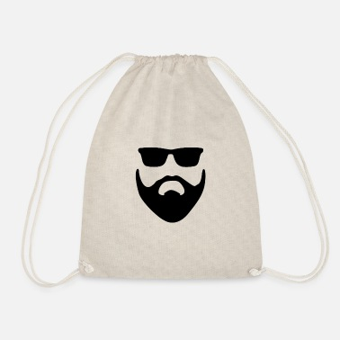 Beard Beard • Bearded • Bearded • Gift - Drawstring Bag