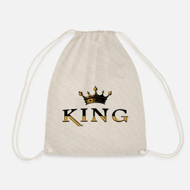 Monarchy King crown monarchy - Drawstring Bag