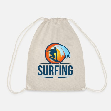 Surf surf surfista kite surf mar - Mochila saco