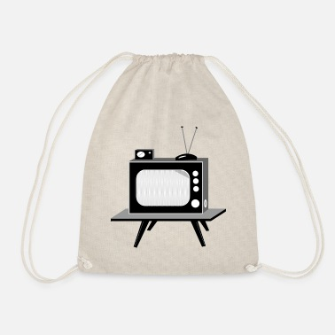 Tv TV - Drawstring Bag