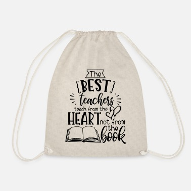 Elementary School Students The best teacher - school elementary school students - Drawstring Bag