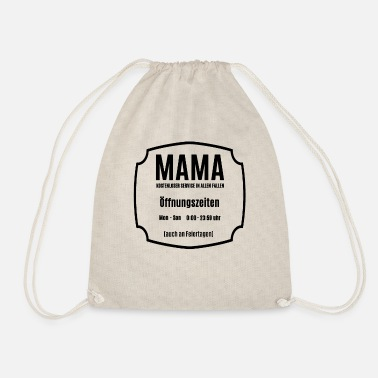 Mom is always there for an opening tshirt - Drawstring Bag